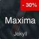 Maxima - Minimal Blog and Magazine Jekyll Theme