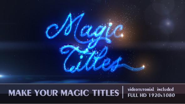 VideoHive Magic Titles 19445192
