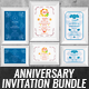 Anniversary Invitation Bundle