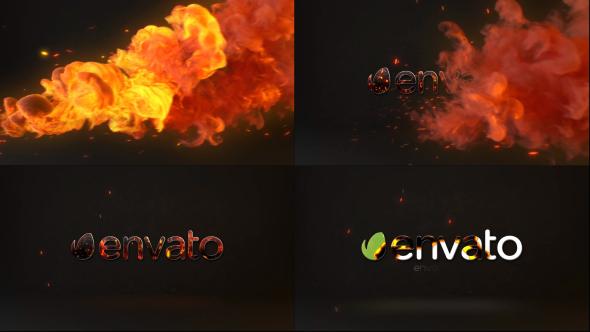 VideoHive Fire Logo 19445751