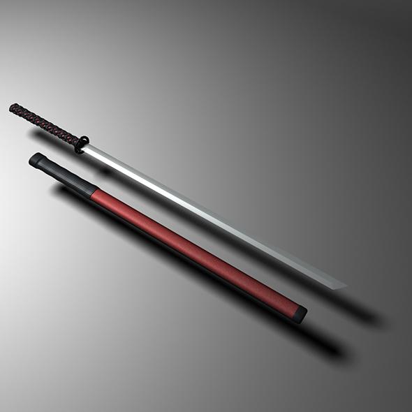 3DOcean sword 19446155