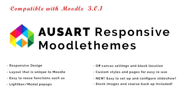 Download Ausart - Responsive Moodle Theme