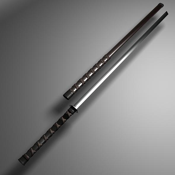 3DOcean sword 2 19446300