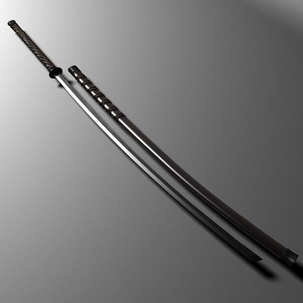 3DOcean sword 3 19446450