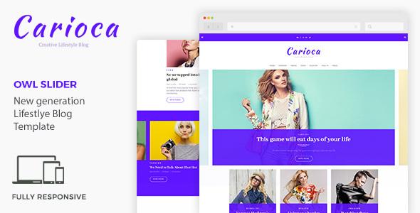 Carioca | Multipurpose Blog Template (Retail) Carioca | Multipurpose Blog Template (Retail) preview