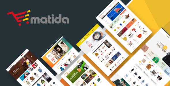Matida - Multipurpose Responsive Opencart Theme