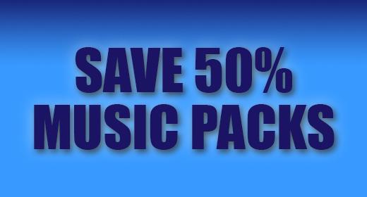 Music Packs - Save 50%