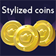 Stylized Coin Pack