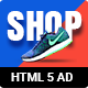 Shopping - HTML5 Animated Banner 15