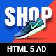 Shopping - HTML5 Animated Banner 15
