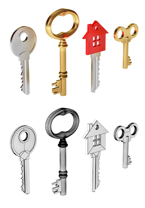 Keys - 3DOcean Item for Sale