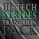 Hi-Tech Transition Stripes - Green