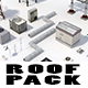 Low Poly Roof Element PACK