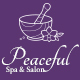 Peaceful - PSD Template For Beauty & Spa