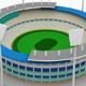 Stadium Icon 3d