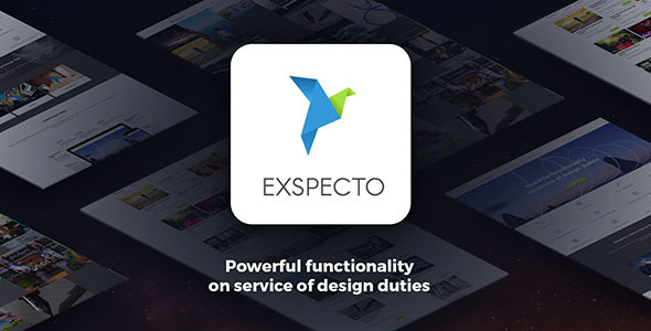 Exspecto – Multi-Purpose Theme (Business) Download