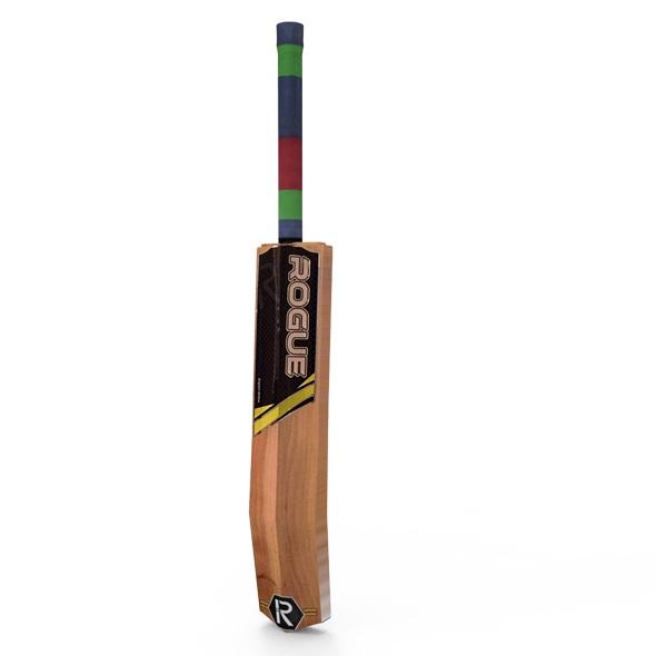 3D Model of Cricket Bat - 3DOcean Item for Sale