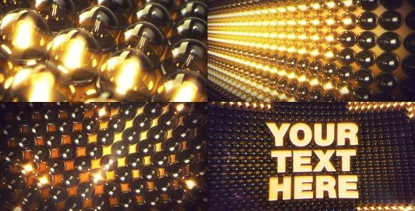 VideoHive Led Light Logo Intro 19450718