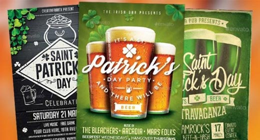 Best Saint Patricks Day Flyer Templates