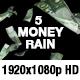 Money Rain - Euro, Dollar, Pound, Ruble, Yen