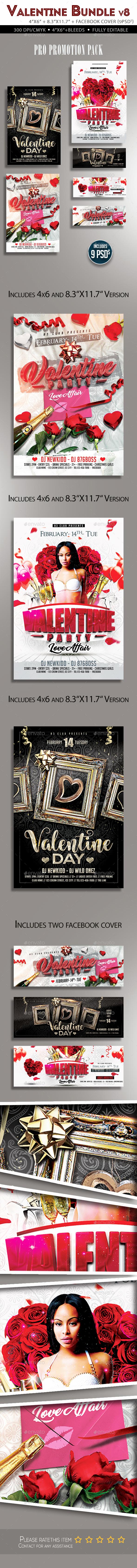 Valentine Flyer Bundle v8