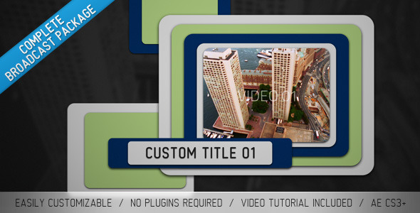 After Effects Project - VideoHive Sliders Broadcast Package 1909326