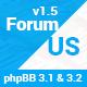 ForumUS | Responsive phpBB 3.1 & 3.2 Style / Theme