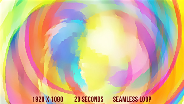 VideoHive Random Water Color Strokes Abstract Background 19451878