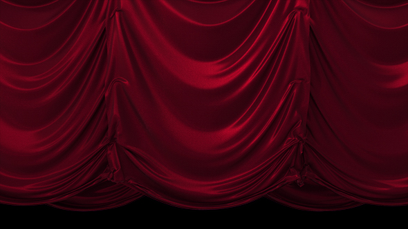 VideoHive Red Vertical Curtain 19451929