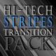 Hi-Teck Transition Stripes - Blue