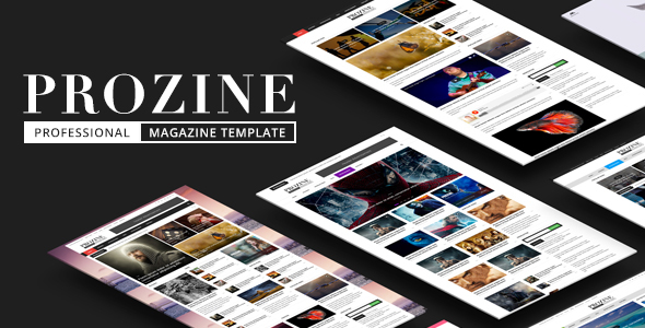 Prozine – Shocking Information & Mag HTML Template (Miscellaneous)