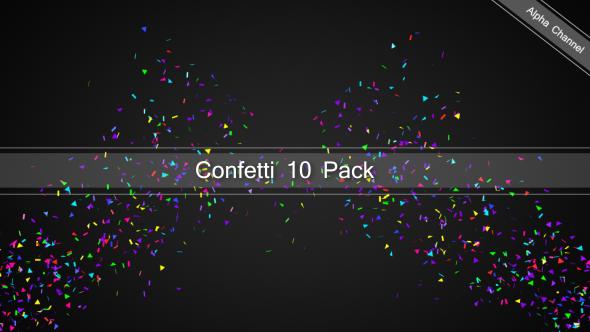 VideoHive Confetti 19452324