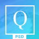 Quanty - Creative Agency and Portfolio PSD Template