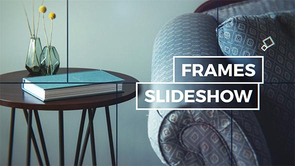 VideoHive Elegant Frames Slideshow 19452542