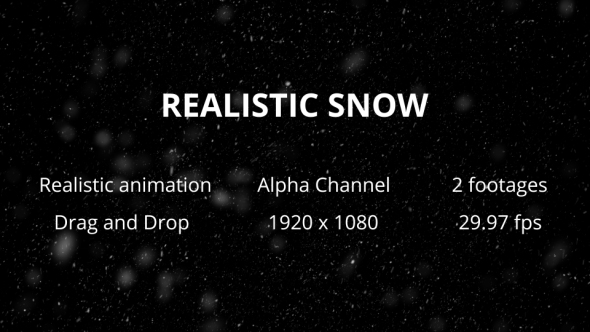 VideoHive SNOW WIDE AND CLOSEUP Pack 19452923