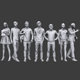 Lowpoly People Casual Pack Vol.2