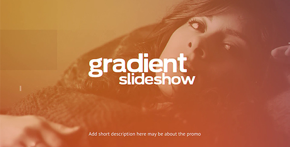 VideoHive Gradient Slideshow 19453338
