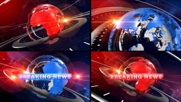 VideoHive Breaking News Opener 19453417