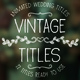 Vintage Titles