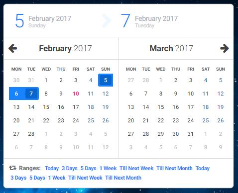 Javascript date picker in Brisbane
