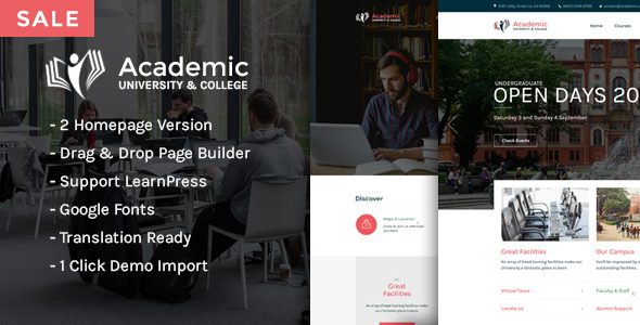 Download Academic - Education Theme For WordPress