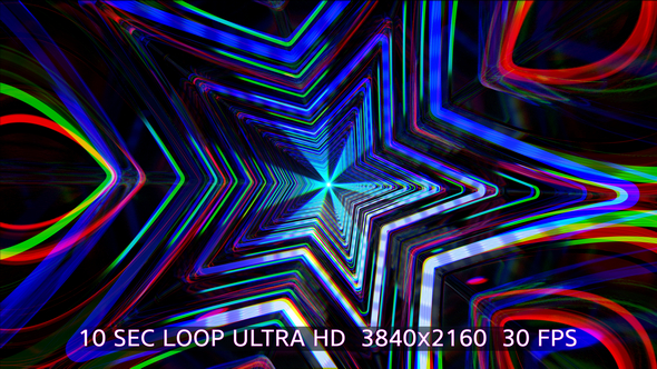 VideoHive VJ Star Flickering V2 19455129