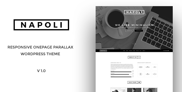 Napoli - One Page Parallax WordPress Themes