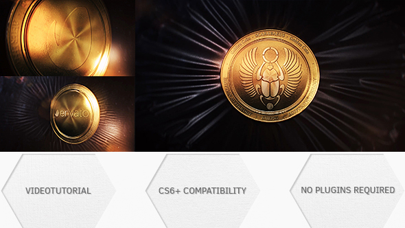 VideoHive Golden Coin 19455238