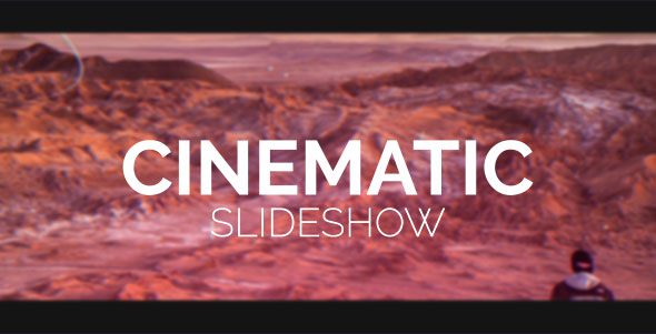 VideoHive Cinematic Slideshow 19455287
