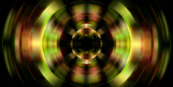 VideoHive VJ Distorted Disk 19455648