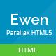 Ewen - Multipurpose HTML5 Parallax Template