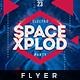 Space Xplod - Flyer Template