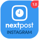 NextPost - Auto Post<hr/> Schedule &#038; Manage your Instagram Multi Accounts &#8211; PHP Script&#8221; height=&#8221;80&#8243; width=&#8221;80&#8243;></a></div><div class=