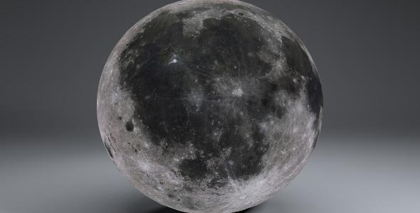 3DOcean MoonGlobe 8k 19457320
